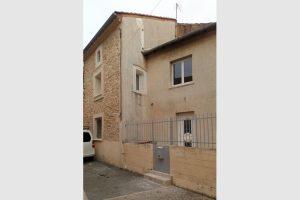 Codolet dans le Gard, maison de village de 4 pièces