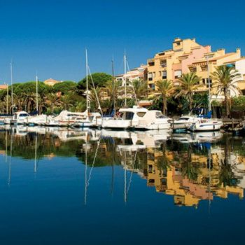 La marina du port du Cap d'Agde
